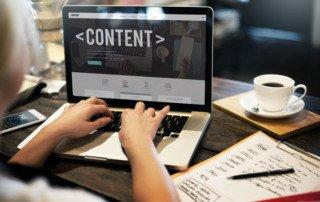 Insurance website content marketing